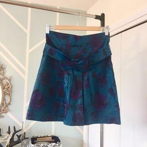 Floral high-waisted skirt  H&M - 4 -XS
